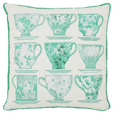 Tesco Teacup Cushion