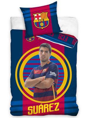 FC Barcelona Suarez Target Single Duvet Cover Set