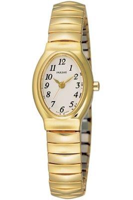 Pulsar Ladies Gold Tone Bracelet Watch PRS586X1