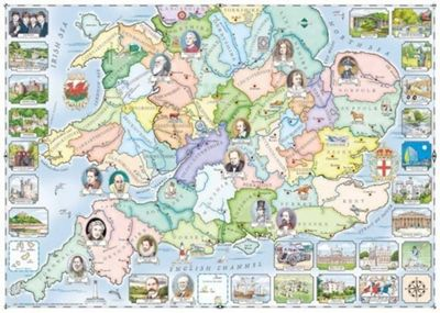 Our Native Lands No1 - South and Midlands - 1000pc Puzzle