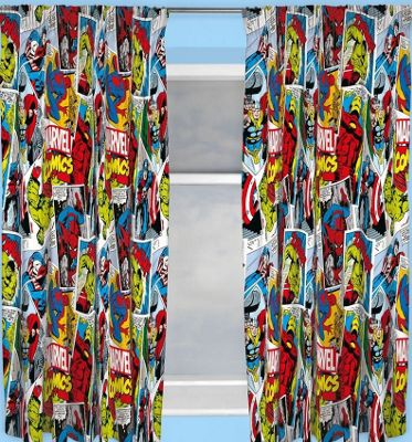 Marvel Avengers Justice Curtains, 54s