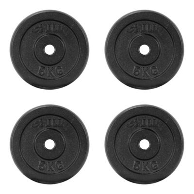 JLL Cast Iron Weight Plates - 4 x 5kg (20kg)