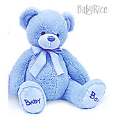 Baby Blue Bobby Teddy Bear 35cm