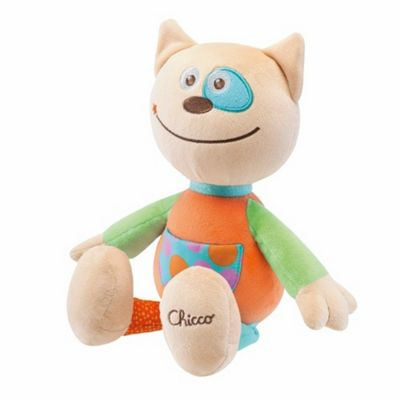 Chicco Happy Colours Soft Plush Toy (Cat)