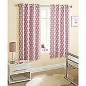 Enhanced Living Eclipse Eyelet Curtains - Pink