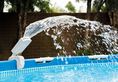 Intex Multi-Color LED Above Ground Pool Water Sprayer Accessory