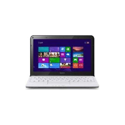 Sony Vaio SVE1513H1E (15.5 inch) Notebook i3 (3120M) 2.50GHz 4GB 750GB DVD WLAN BT Windows 8 (HD Graphics 4000) - White
