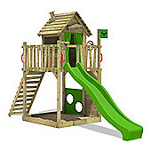 Fatmoose HappyHome Hot XXL Climbing Frame With Apple Green Slide