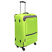 Tesco Majorca 4 Wheel Lightweight Lime Cabin Case