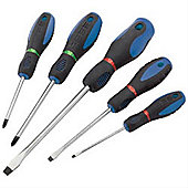 Draper, 5PC S/GRIP SCREWDRIVER SET