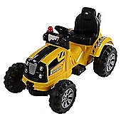 Electric Ride On Tractor 12v Yellow