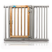 Bettacare Auto Close Gate Wooden with Two 14.4cm Extensions
