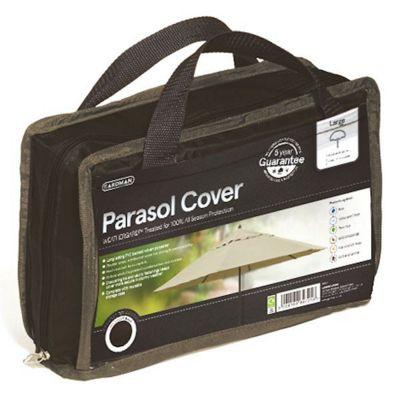 Gardman Large Parasol Cover- Black