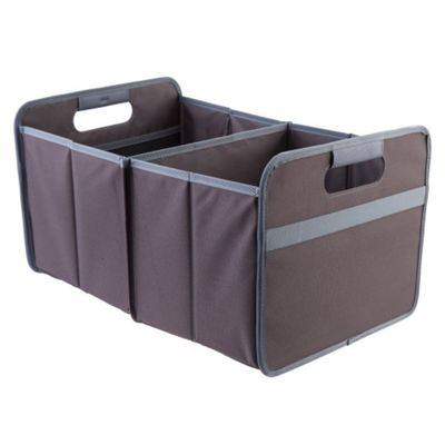 Meori Classic Collection Large Flatbox Foldable Box 30 Litre in Cacao Brown