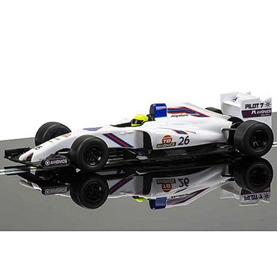 Scalextric Slot Car C3597 Gp Racer (White)
