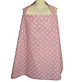 Breastfeeding Cape (Dotty Pink)