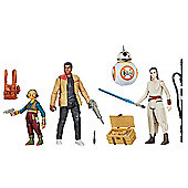 Star Wars The Force Awakens Takodana Encounter Figure Set
