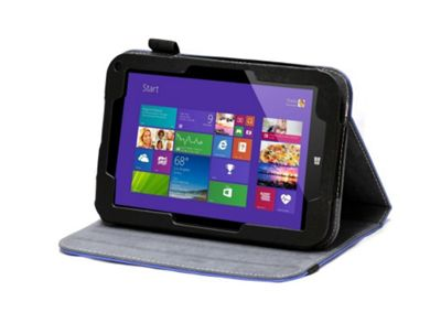 Toshiba Encore Blue Faux Leather Multi Stand Case Cover