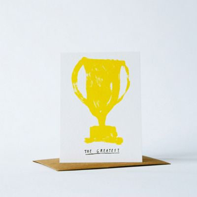 Yellow Owl Workshop Card - The Greatest