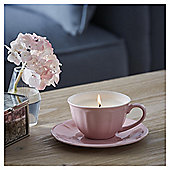 Fox & Ivy Morrocan Rose Luxury Scented Filled Teacup Candle