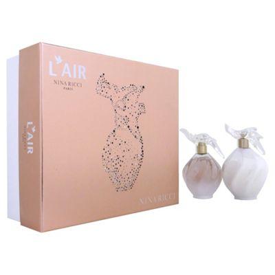 Nina Ricci L'Air Giftset 100Ml Edp & 200Ml B/Lotion