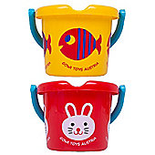 Gowi Toys Wildlife Bucket (Pack of 2 - Fish and Rabbit)