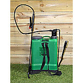 16L Knapsack Backpack Pressure Sprayer Weed Killer