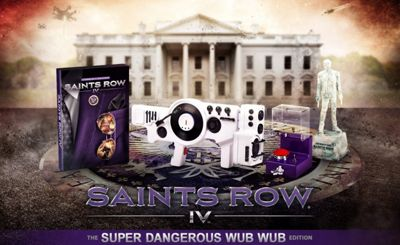 Saints Row Iv: Super Dangerous Wub Wub Edition (Xbox 360)