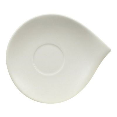 Villeroy and Boch Flow Breakfast Cup Saucer 21cm by 18cm (Saucer Only)