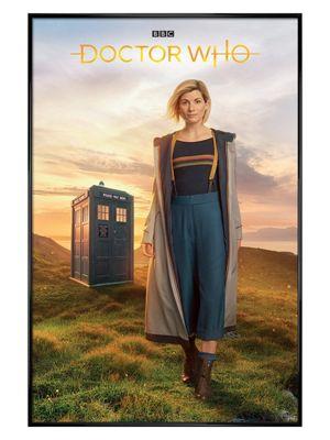 Doctor Who Gloss Black Framed 13th Doctor Poster 61x91.5cm