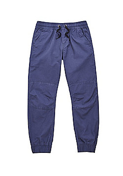 F&F Ripstop Cuffed Trousers - Navy Blue