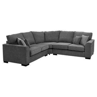 Vitorio Corner Sofa, Dark Grey
