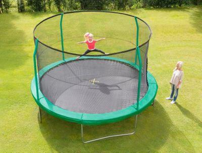 14ft jumpking combo trampoline