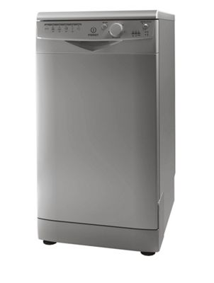 Indesit Ecotime Slimline Dishwasher DSR 15B1 S UK - Silver