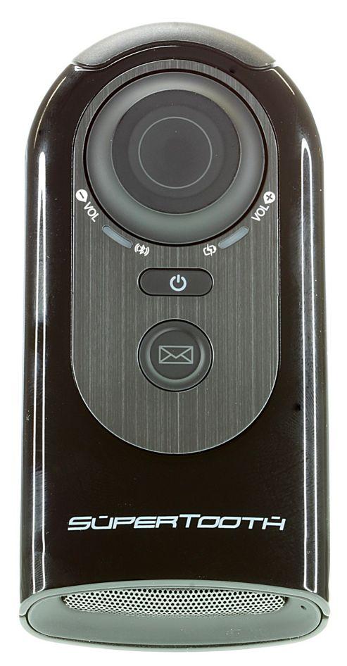 Supertooth HD Handsfree Bluetooth Speakerphone Car Kit - Black
