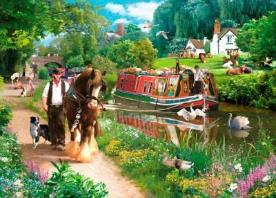 Tow Path - 1000pc Puzzle