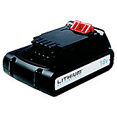 Black + Decker 18V Lithium Battery