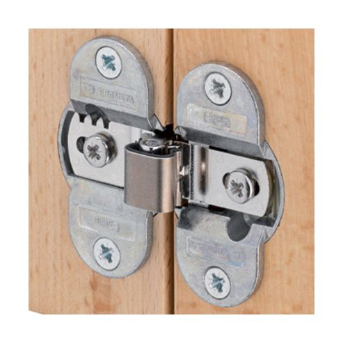Hinge for folding doors (343.91.600) - Screw fixing cup