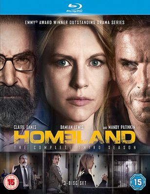 Homeland Season 3 Bd