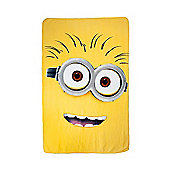 Despicable Me Fleece Blanket - Yellow