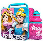 Disney Princess 3d Lunch Bag with Bottle Box