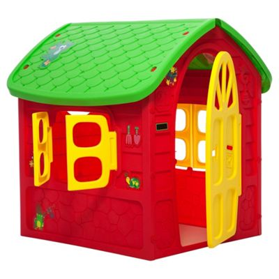 Tesco Jungle Jive Junior Playhouse Red