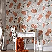 Superfresco Pippa Wallpaper - Orange