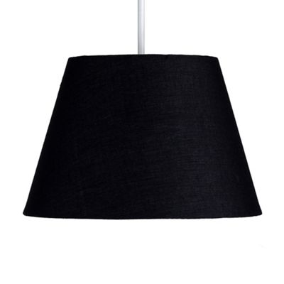 Eimer 8 inch Tapered Drum Shade Black 140mm x 200mm