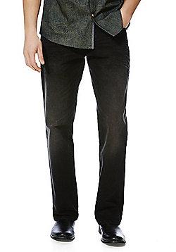 F&F Loose Fit Jeans - Black