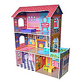 Bebe Style Supreme Tall Doll Town House With Furniture