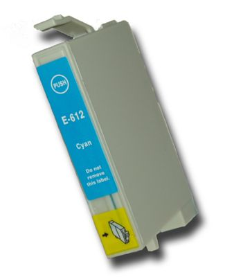 Cyan (Blue) T0612 Compatible Epson Teddybear non-OEM ink cartridge for Epson Stylus