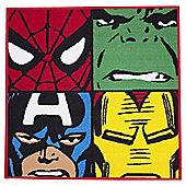 Marvel Comics Defenders Rug