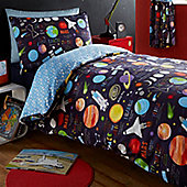 Planets Single Duvet