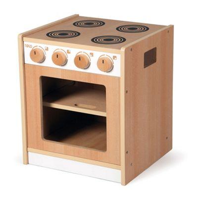 Tidlo Wooden Toddler Cooker - Pretend Play